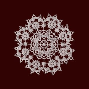 Pag lace circular 11cm