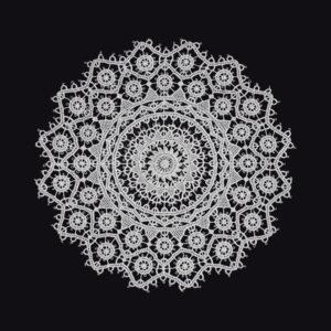 Pag lace circular 21cm