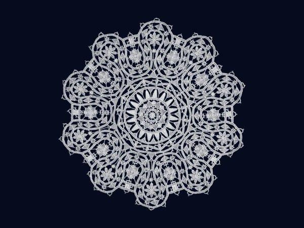 Pag lace circular 26cm