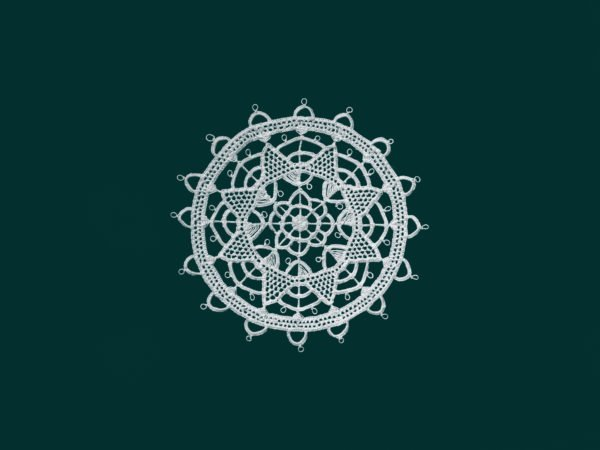 Pag lace circular 8cm