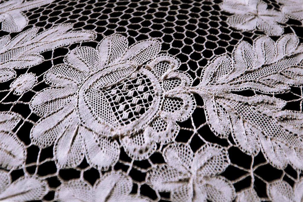 Lepoglava lace - flower detail