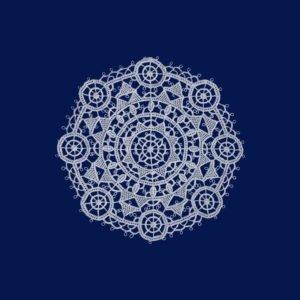 Pag lace circular 14cm