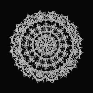 Pag lace circular 15cm