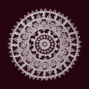 Pag lace circular 16cm