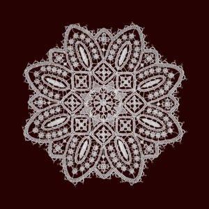 Pag lace circular 24cm