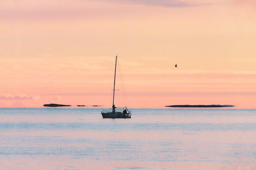 Sunset at Krk Island